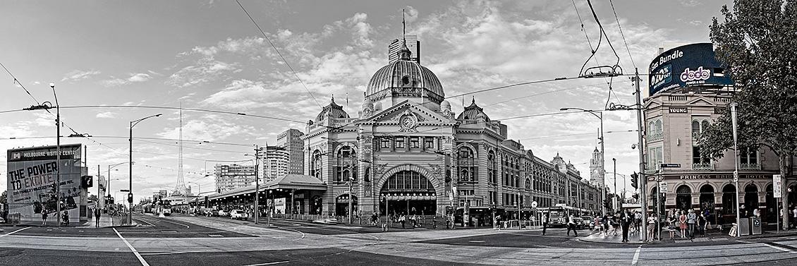 Flinders Street Station Images
