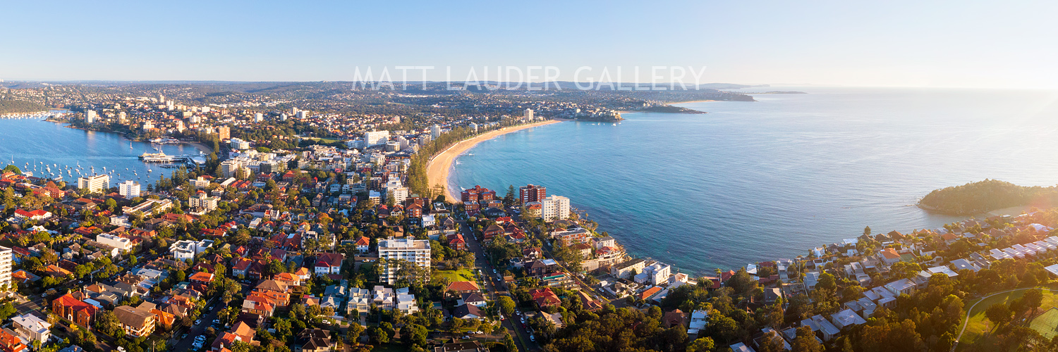Manly Beach Aerial Photography