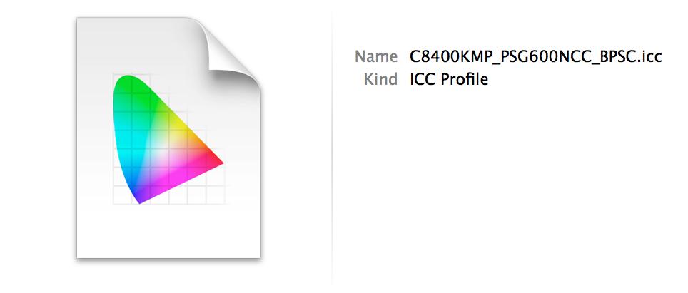 Custom Printing Profile