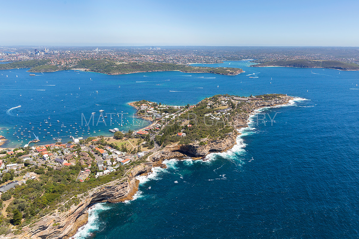 South Head Sydney Aerial Landscape Photos