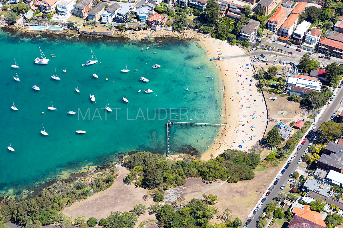 Little Manly Beach Aerial Photos