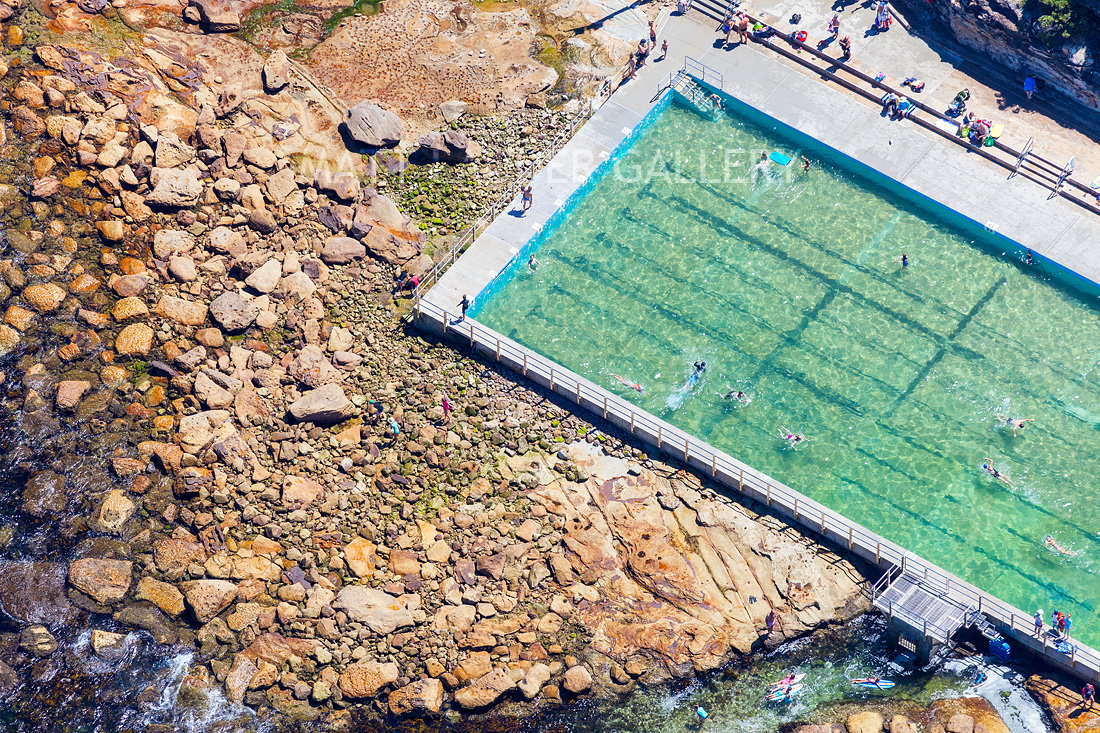 Freshwater Beach Ocean Baths Aerial Photos - Harbord Beach Images Sydney