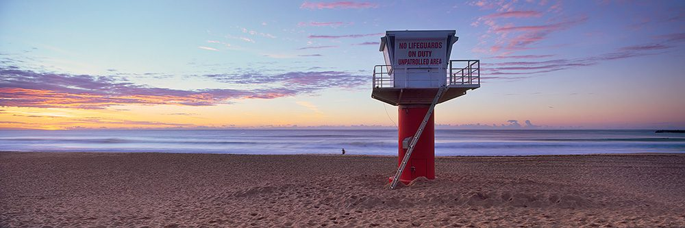 Avoca Surf Lifesaving Tower