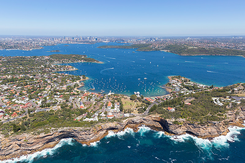 Watons Bay to Sydney Aerial Photos