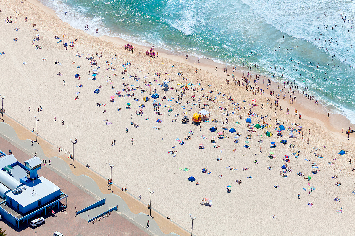 Maroubra Beach Summer Aerial Photos