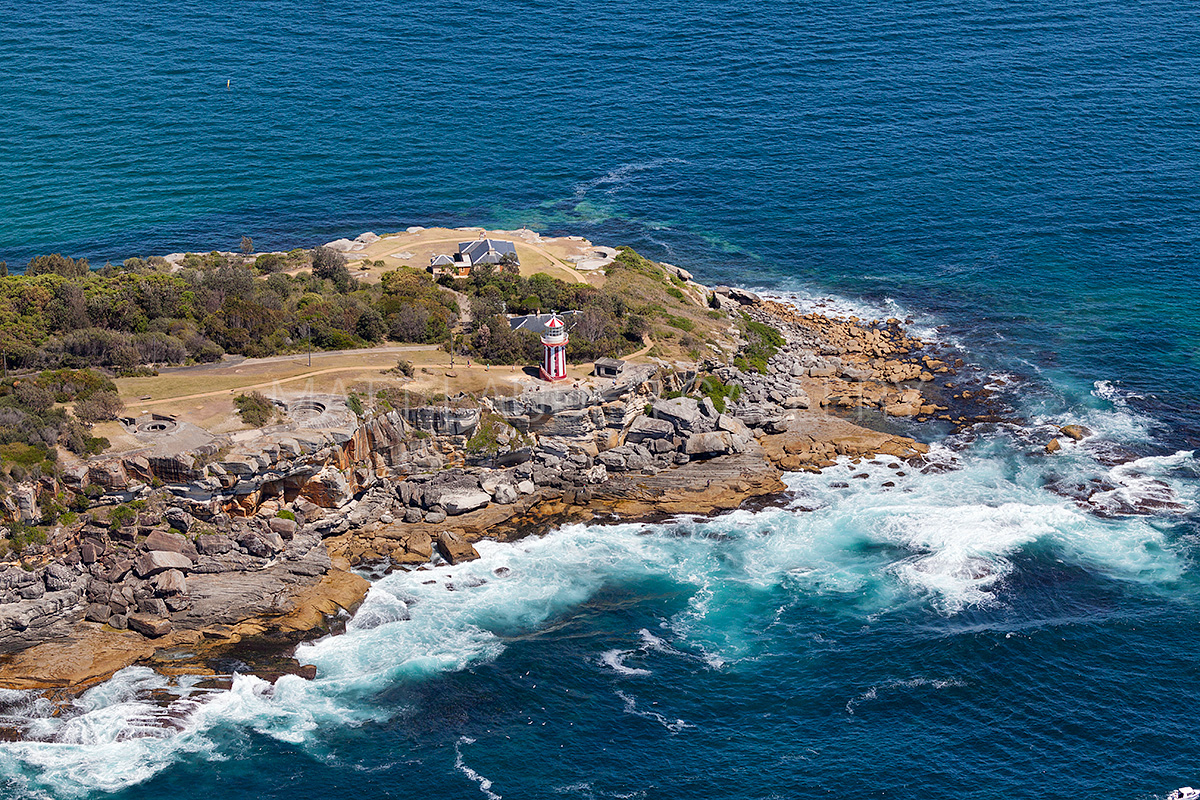 Hornby Lighthouse Aerial Photos