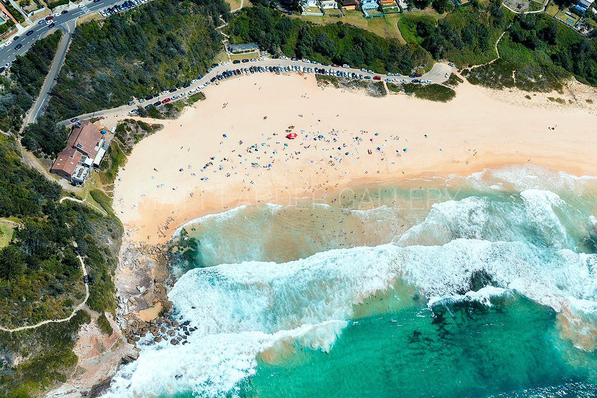 Warriewood Beach Aerial Photos