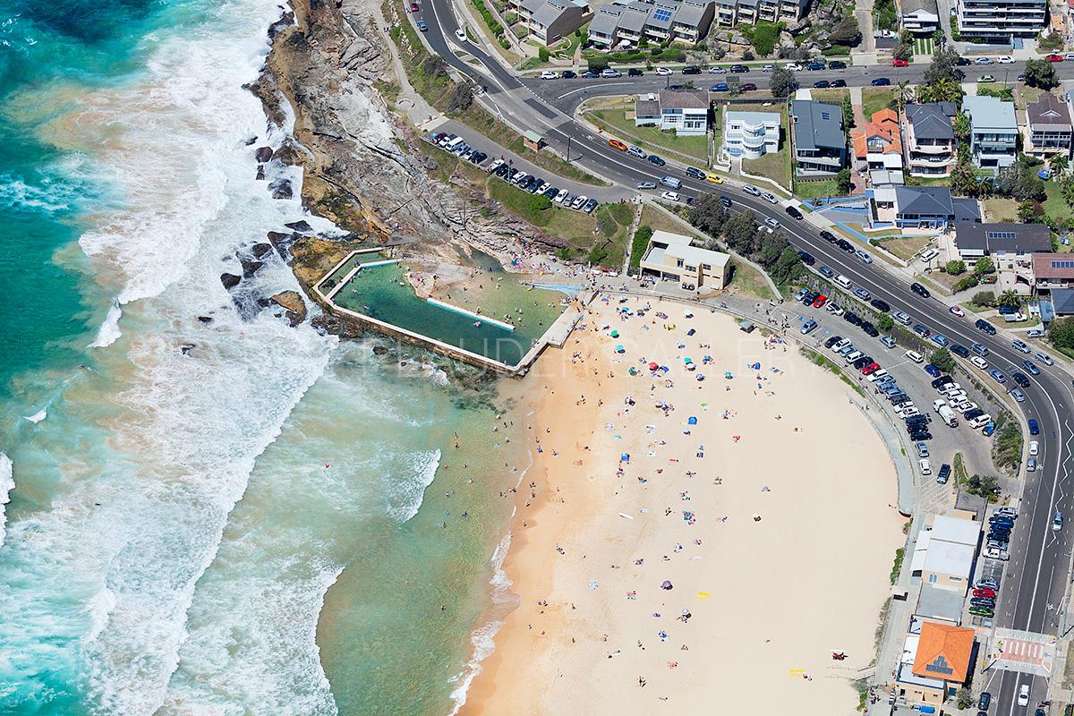 South Curl Curl Beach Aerial Photos