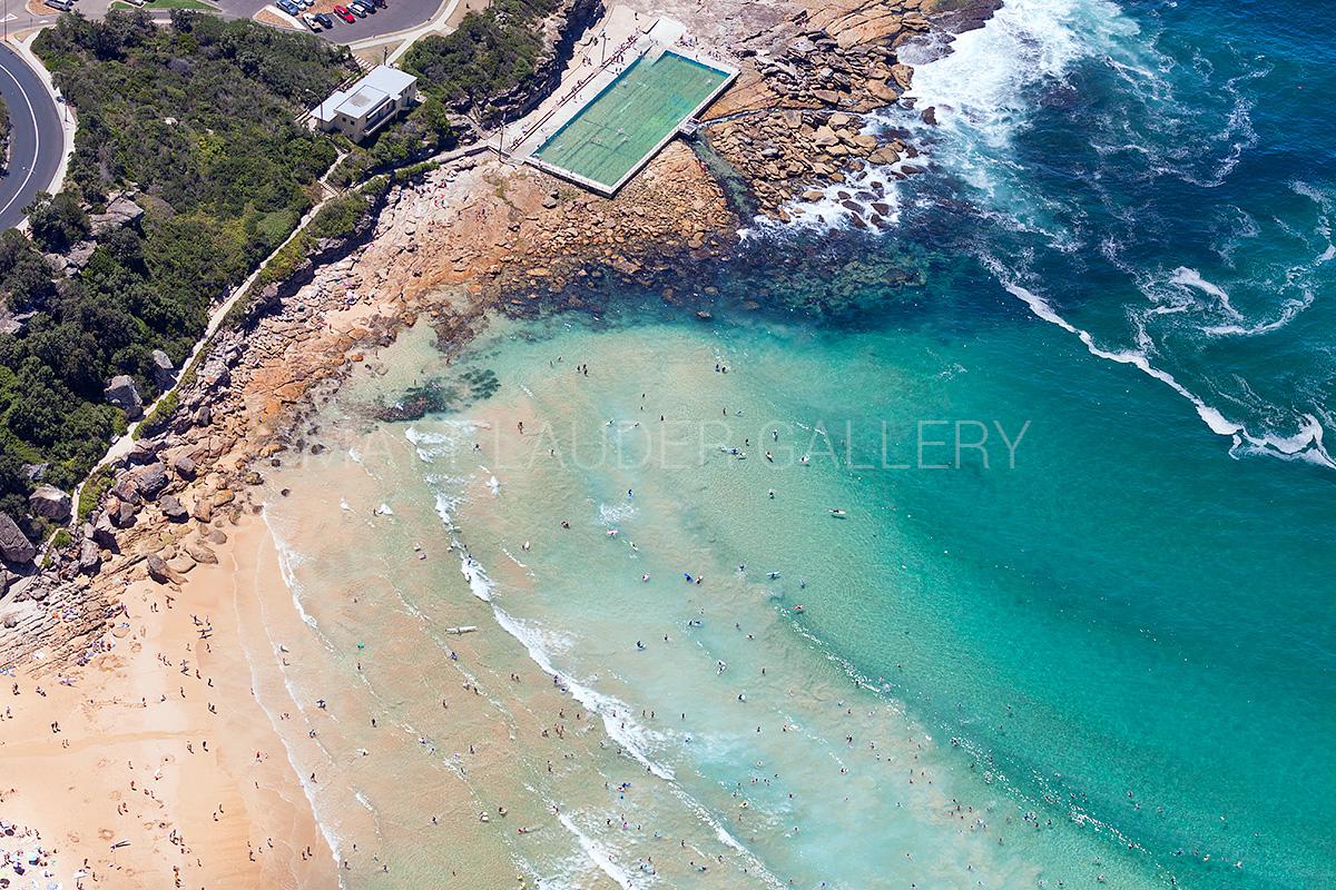 Freshwater Beach Ocean Baths Aerial Photos