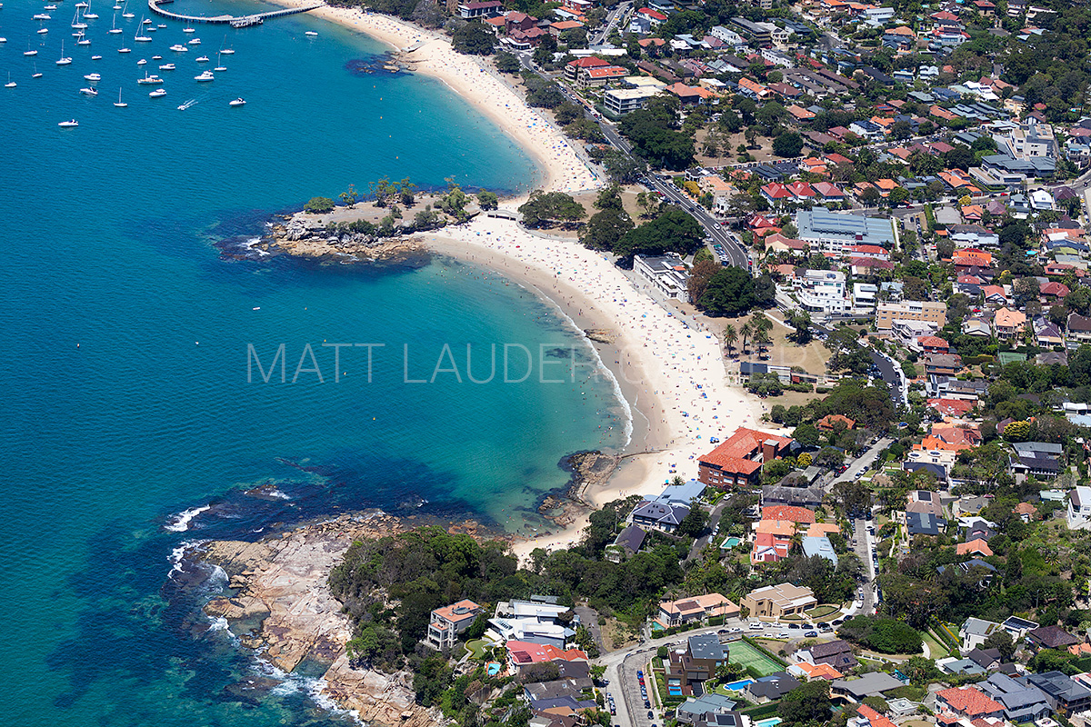 Balmoral Beach Aerial Images Sydney