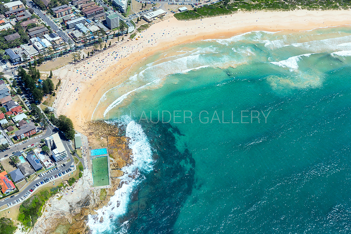Dee Why Beach Landscape Aerial Photography