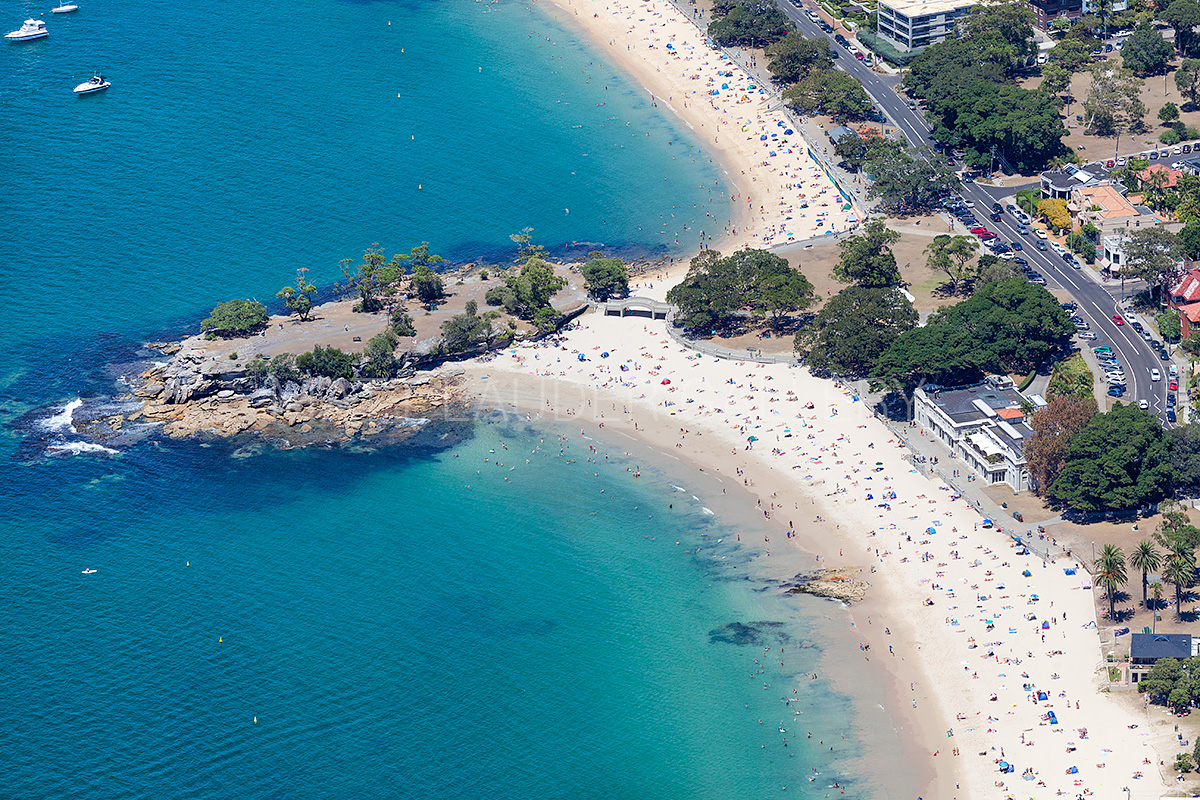 Balmoral Beach Aerial Photography