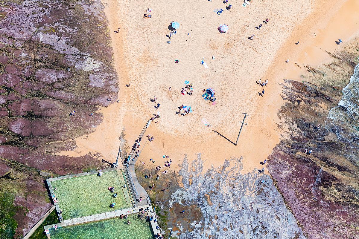 Mona Vale Ocean Baths Aerial Photos