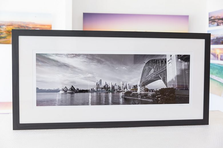 Sydney City and Icons Framed Photo