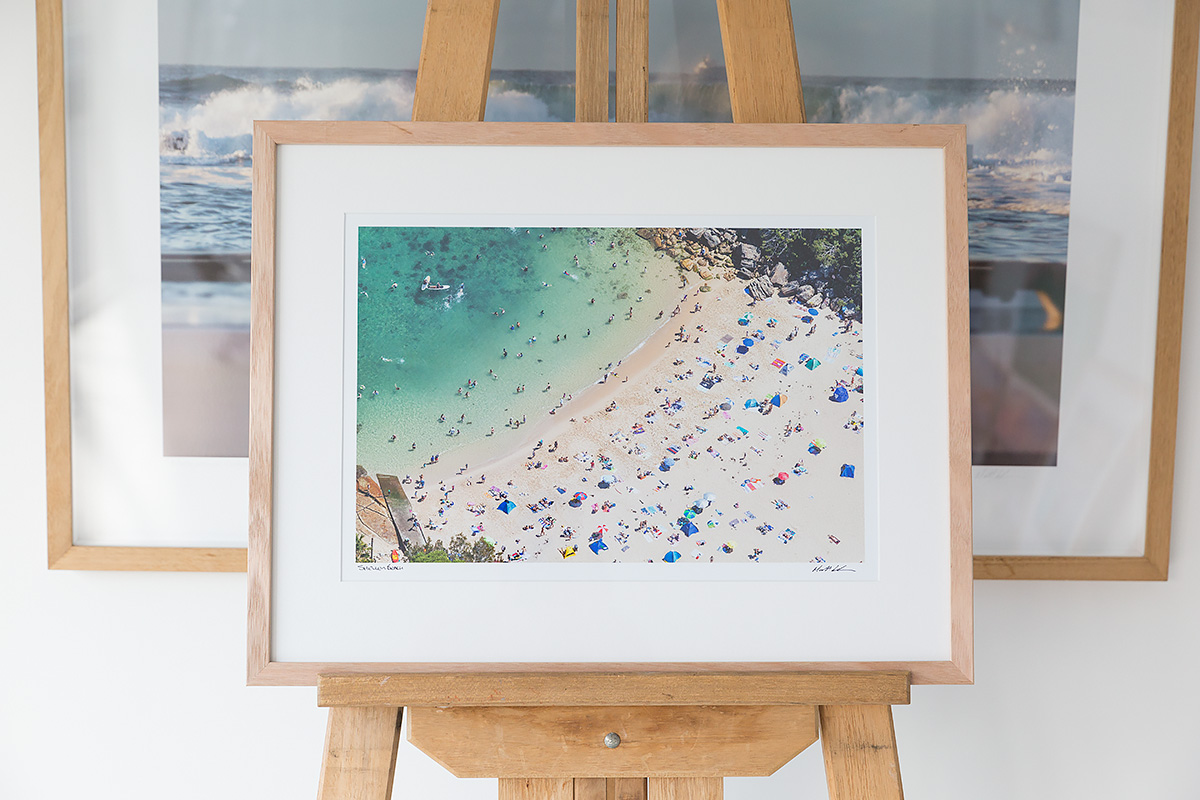 18 x 12 inch photo Shelley Beach