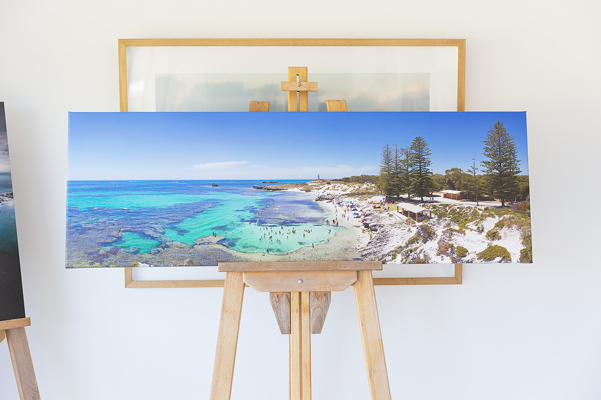 60 inch - wide stretched canvas