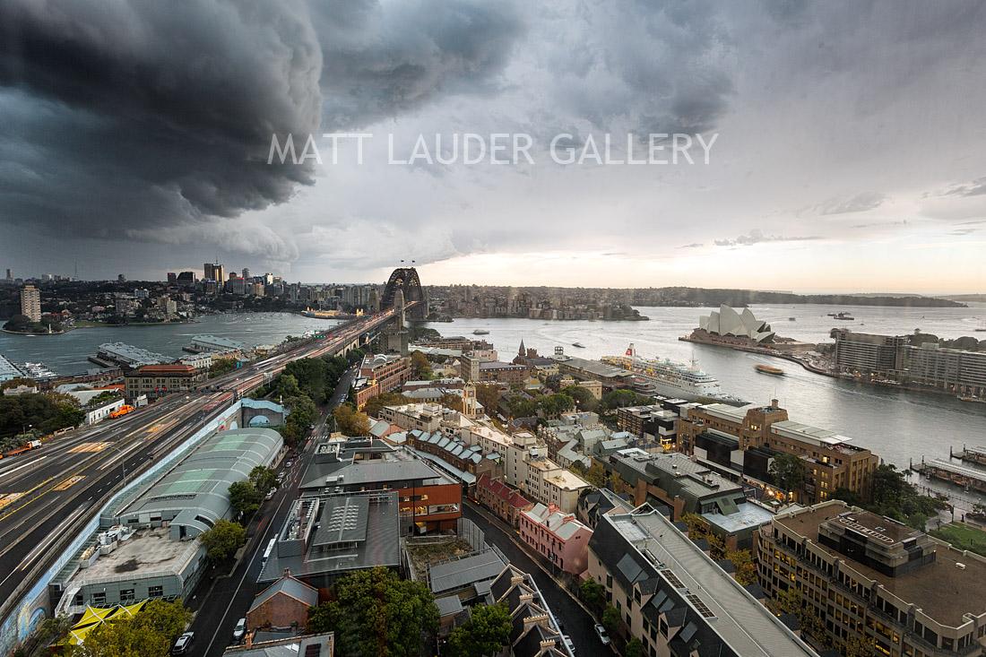 Sydney Storm Front Photos