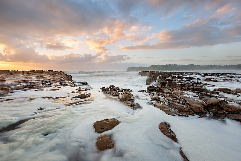 North Avoca Rock Landscape Sunrise Photos