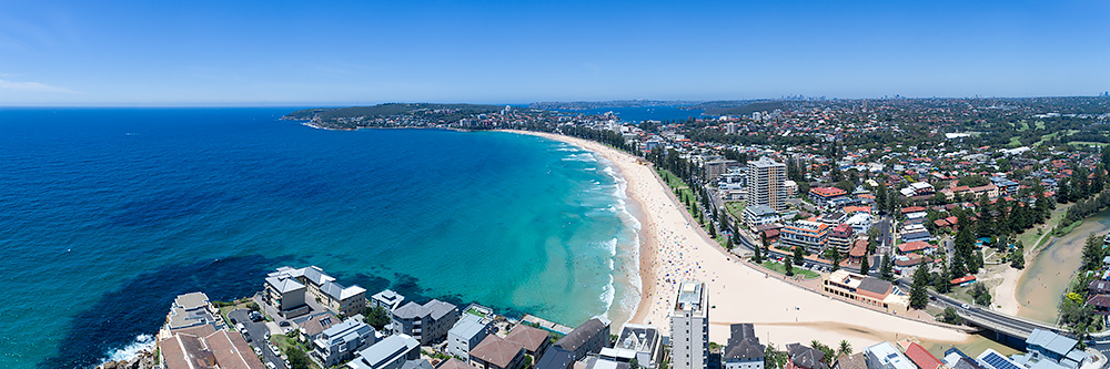 Manly Beach Aerial Images