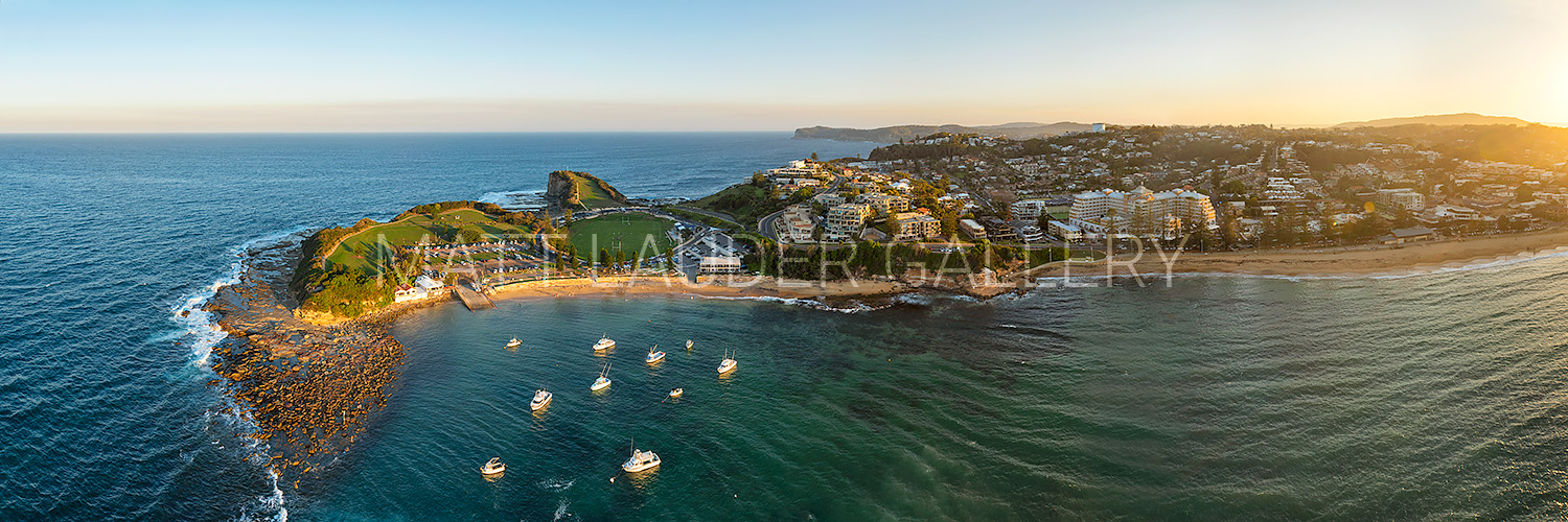 Terrigal Sunset Aerial Drone Images