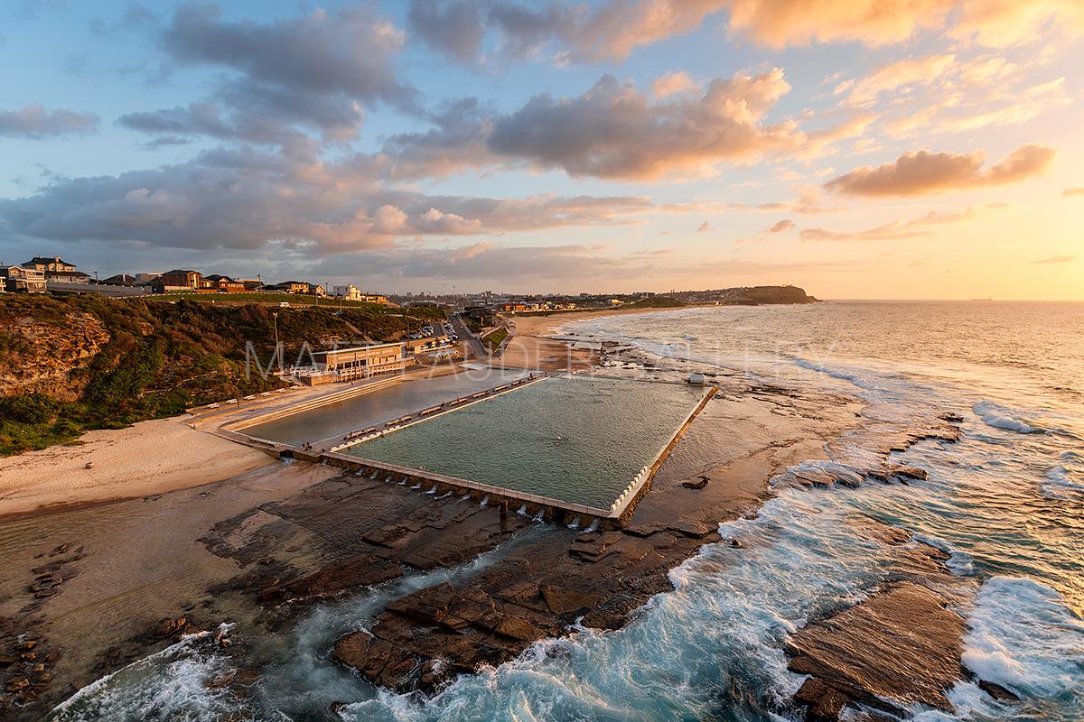 Merewether Ocean Baths Aerial Images