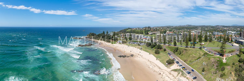 Main Beach Port Macquarie Aerial Photos