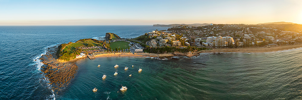 Terrigal Sunset Aerial Drone Photos