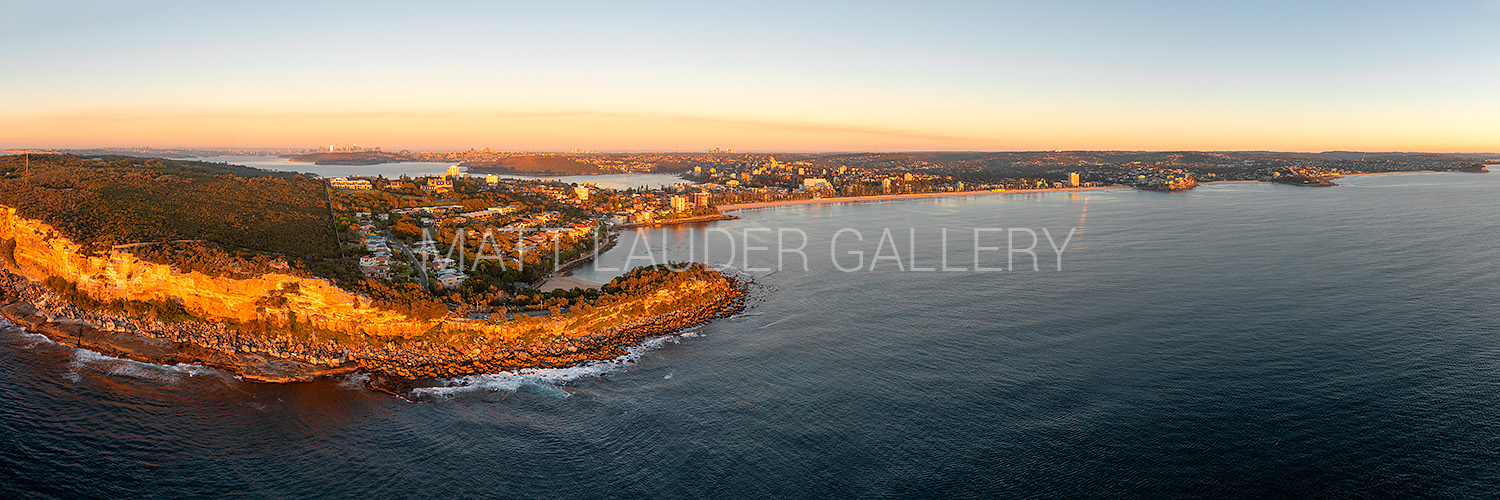 Shelly to Manly Beach Aerial Panoramic Images