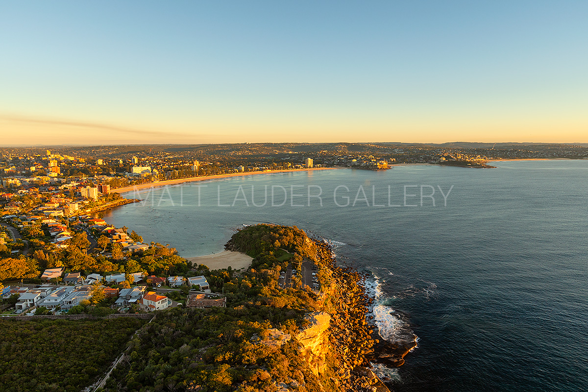 Shelly to Manly Beach Aerial Photos