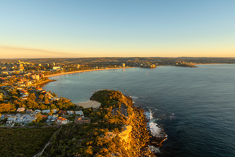 Shelly to Manly Beach Aerial Images