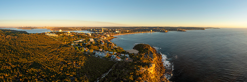 Sydney's Northern Beaches Aerial Landscape Images