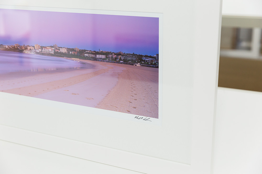 Bondi Beach EB79 Framed Panoramic Photo