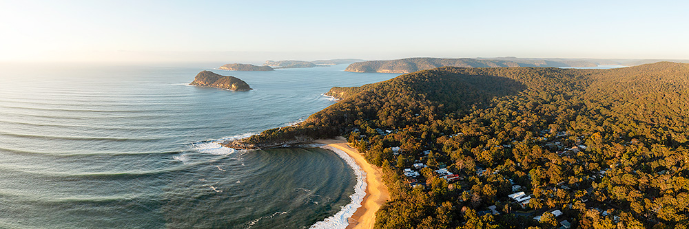 Pearl Beach Aerial Panoramic Photos