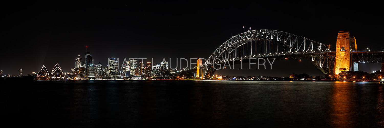 Sydney City Panoramic City Lights Images