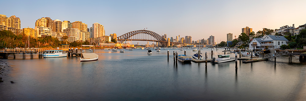 Lavender Bay Afternoon Sunset Panoramic Images