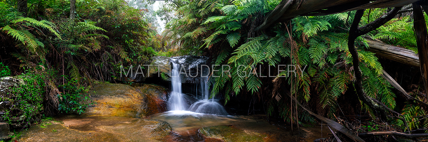 Leura Cascades Waterfall Images Blue Mountains