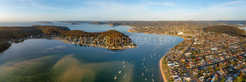 Ettalong Beach Aerial Panoramic images
