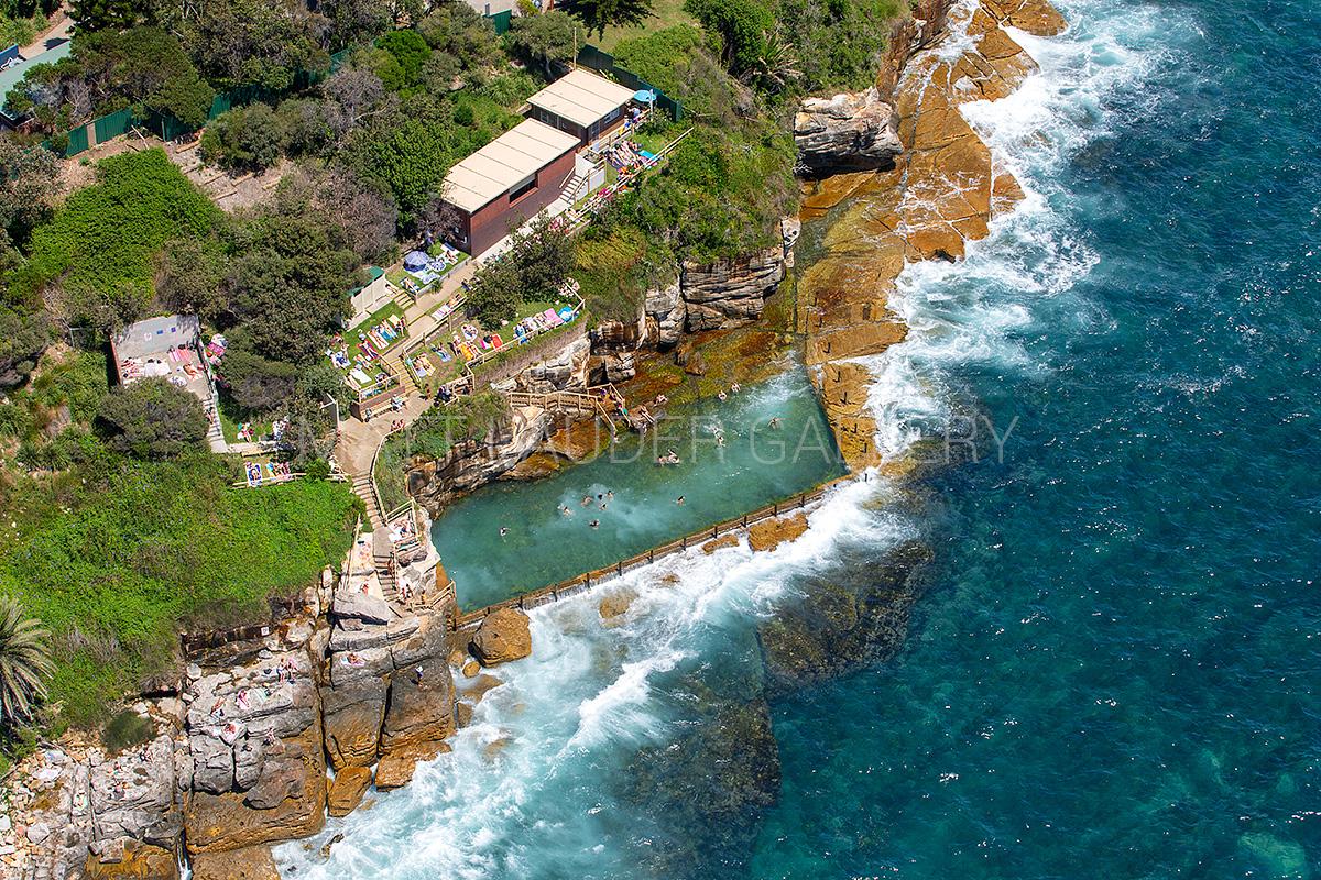 McIvers Baths Ocean Baths Aerial Photos
