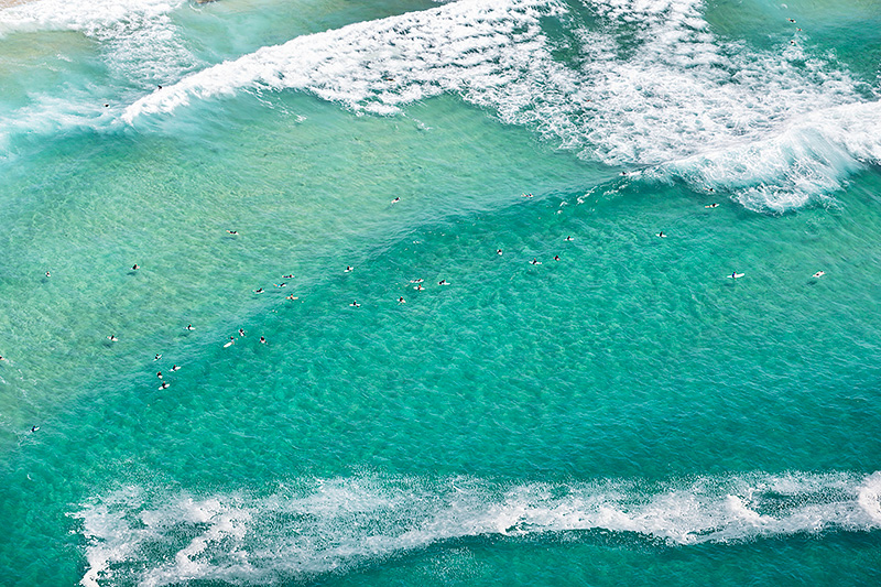 Maroubra Surfing Aerial Photos