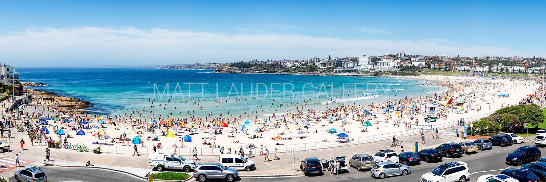 Bondi Beach Summer Panoramic Images