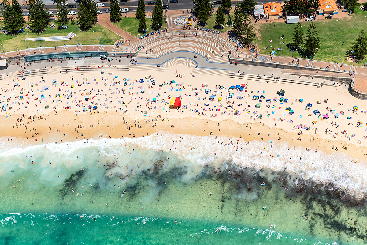 Coogee Beach Aerial Images