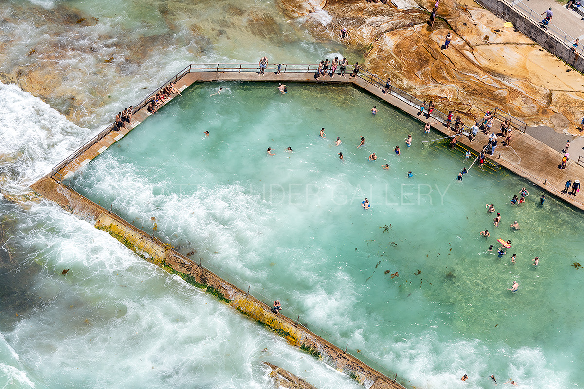 Cronulla Ocean Baths Aerial Images