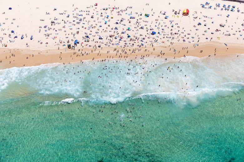 Bondi Fully Loaded Aerial Photos