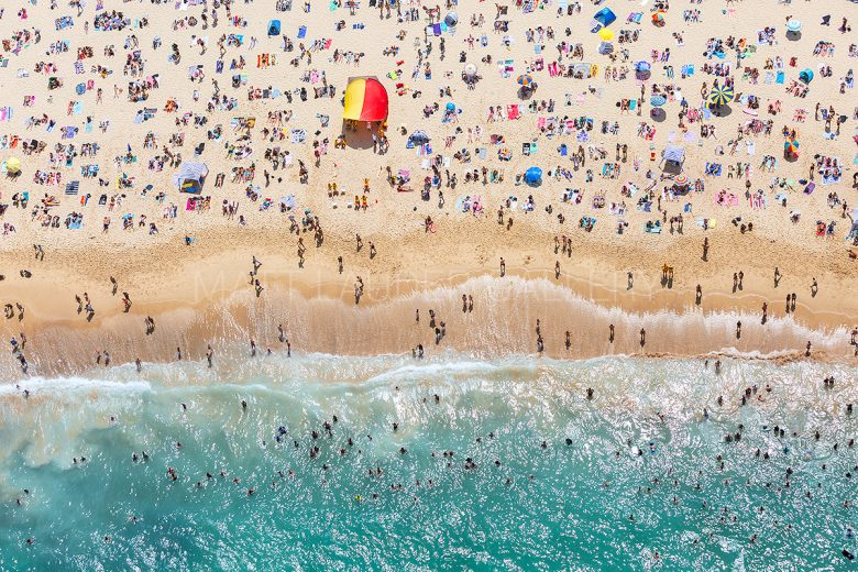 Coogee Beach Australia Day Aerial Photos