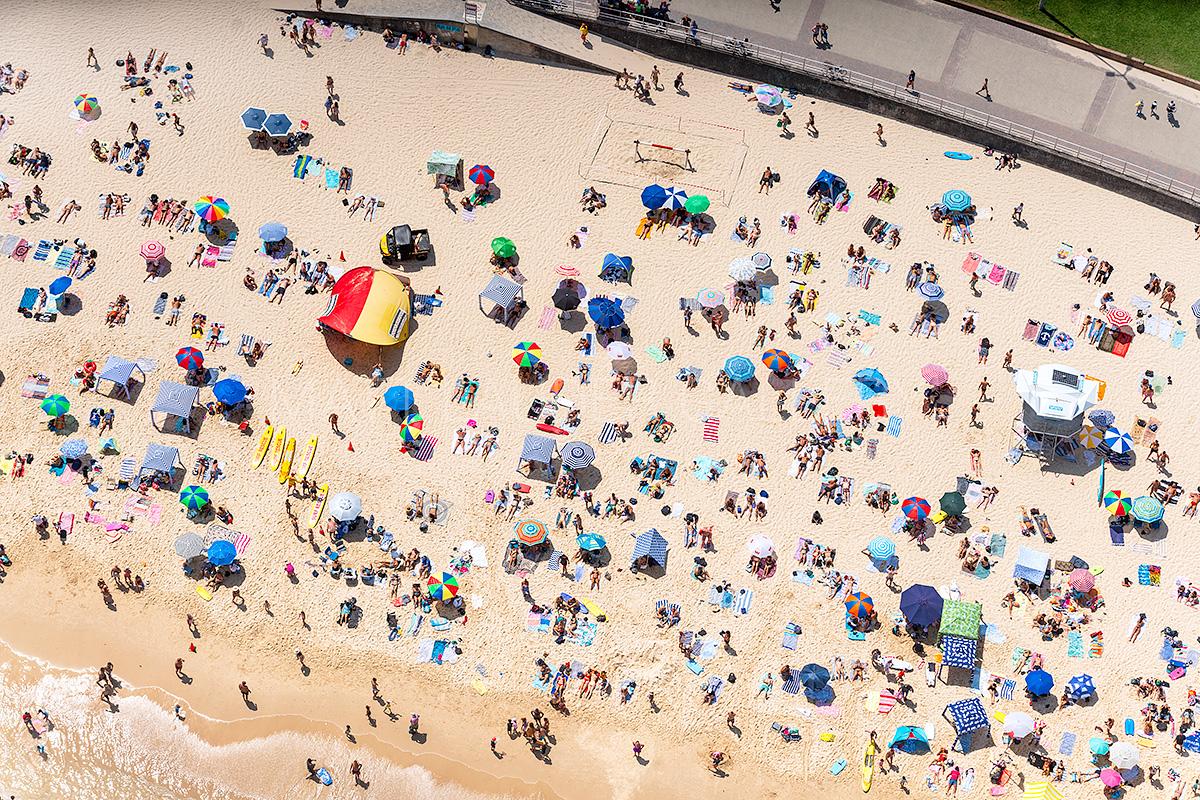 North Bondi Beach Aerial Images