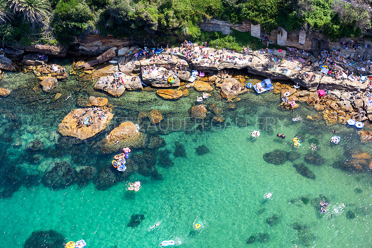 Gordons Bay Aerial Images Summer Aust Day 2019
