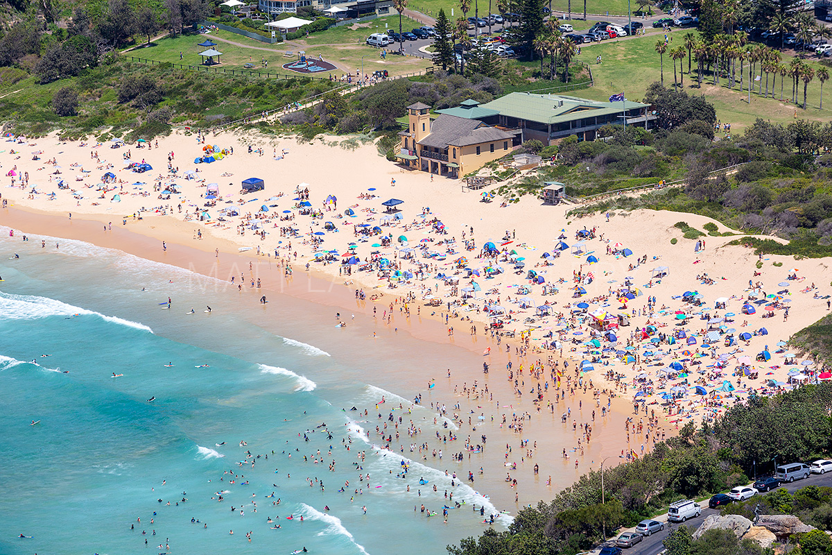 Freshwater Beach SLSC Aerial Images