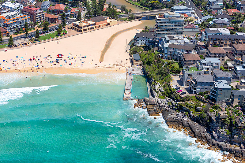 Queenscliff Beach Aerial Photos