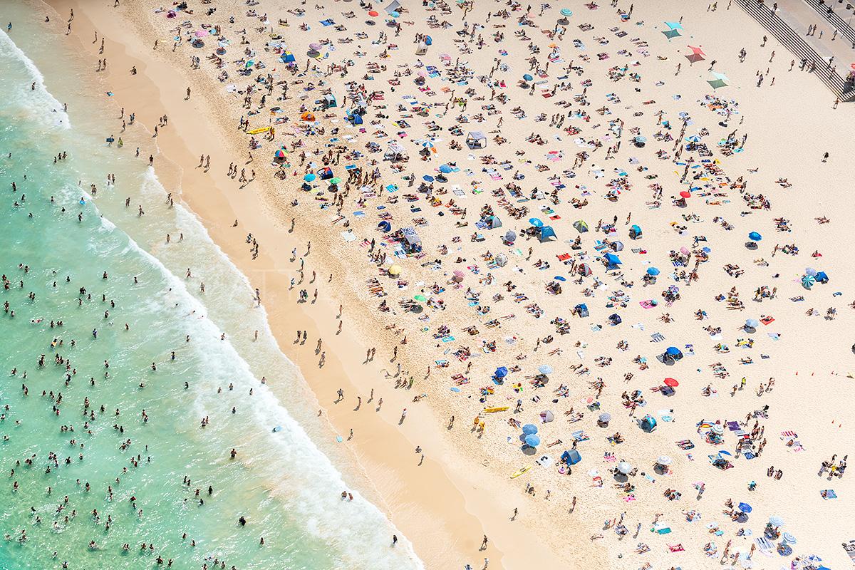 Bondi Beach Aerial Images
