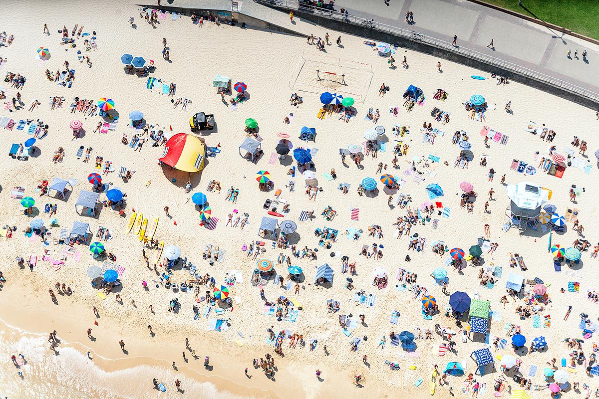 North Bondi Sunbakers Aerial Images